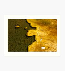 Yellowstone Geothermal feature 1 Art Print