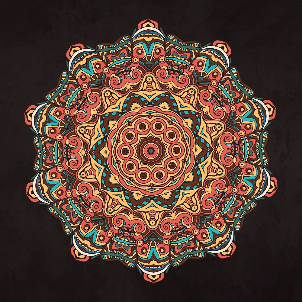 Trippy Mandala by alexrow