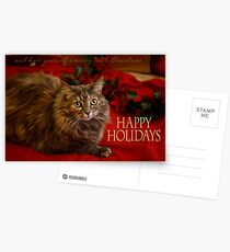 Happy Holidays Postcards