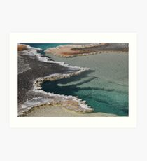 Yellowstone Geothermal Feature 2 Art Print
