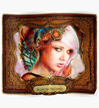 2012 Steampunk Calendar Page 5 Poster
