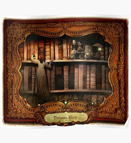 2012 Steampunk Calendar Page 9 Poster