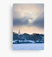 Wintersun Canvas Print