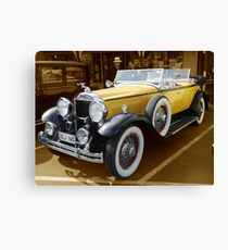 1930, Model 733 Dual Cowl Phaeton Canvas Print