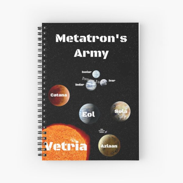 Metatron's Army Spiral Notebook Spiral Notebook