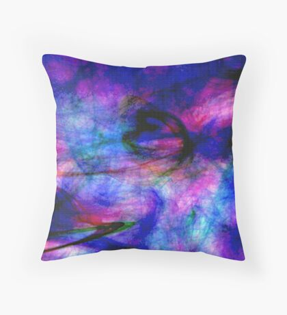 Structure & Chaos Throw Pillow