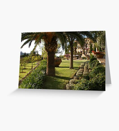 Paradise in Majorca Greeting Card