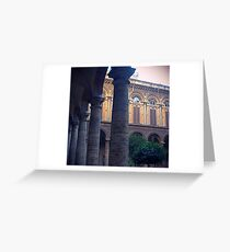 Roman Courtyard Greeting Card