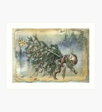 Stealing Christmas Art Print
