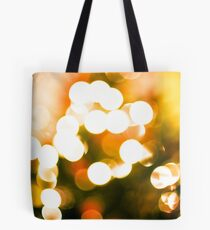 Christmas Tree Bokeh II Tote Bag