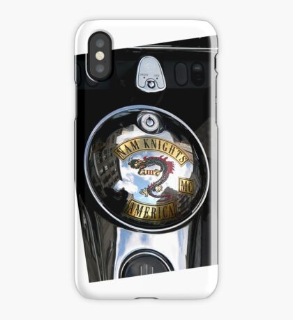 Harley Gas Cap iPhone Case/Skin