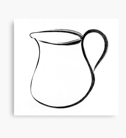 pitcher Canvas Print
