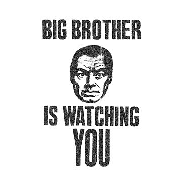 Big Brother is watching you by RoganArt