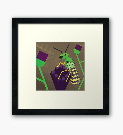 Agapostemonagon Framed Print