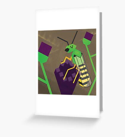 Agapostemonagon Greeting Card