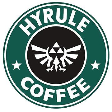 Hyrule Coffee the legends of zelda by RoganArt