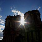 Sun through El Carmen by Don Rankin