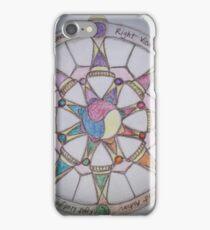 The Wheel of Dharma II iPhone Case/Skin