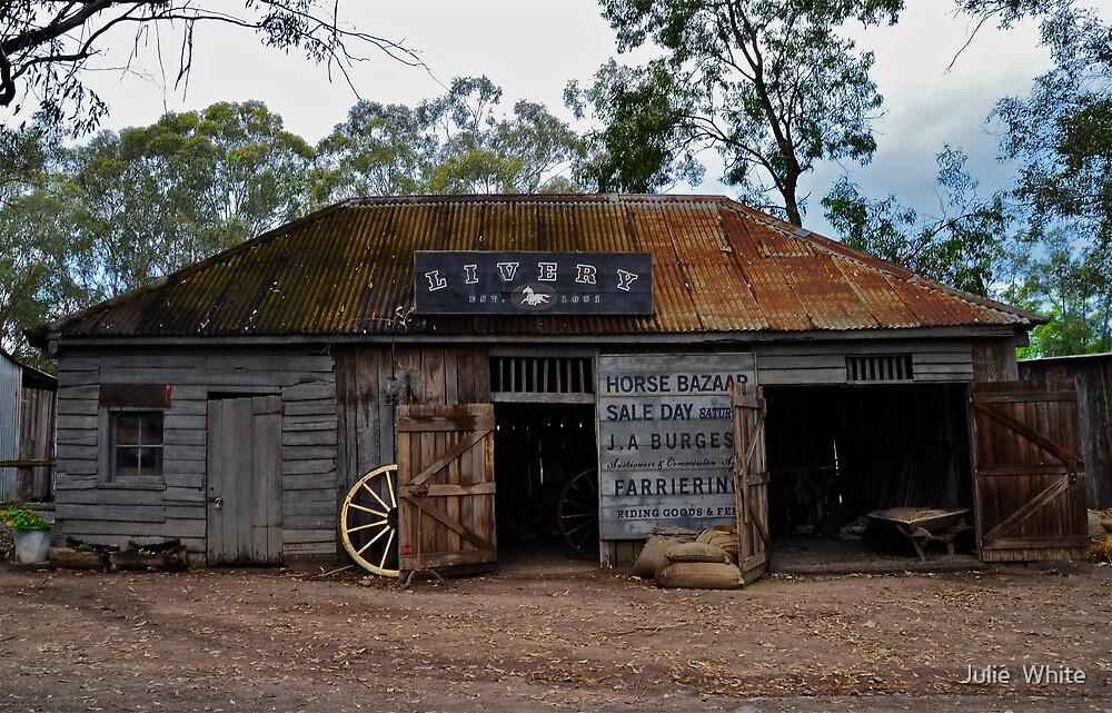 Australiana Pioneer Village. by Julie  White