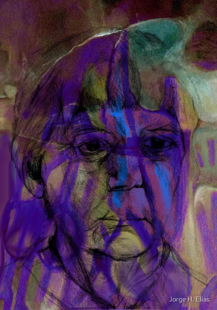 Old Woman Borrado indian by Jorge H. Elias