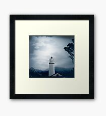 El Faro Lighthouse Mallorca Framed Print