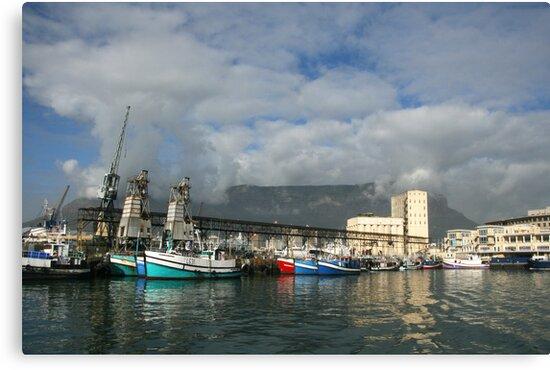 Capetown Harbour by Rob Chiarolli