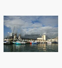 Capetown Harbour Photographic Print