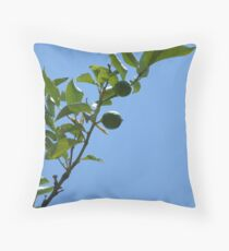 Premature lemon tree Throw Pillow