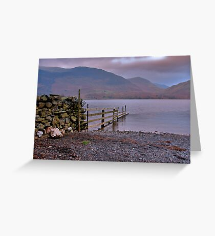 The Fence - Buttermere Greeting Card