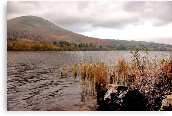 The Lake at Buttermere by Trevor Kersley