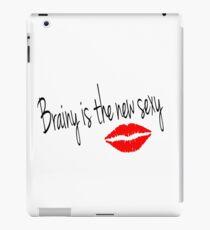 Brainy is the new Sexy-Irene Adler (Sherlock BBC) iPad Case/Skin