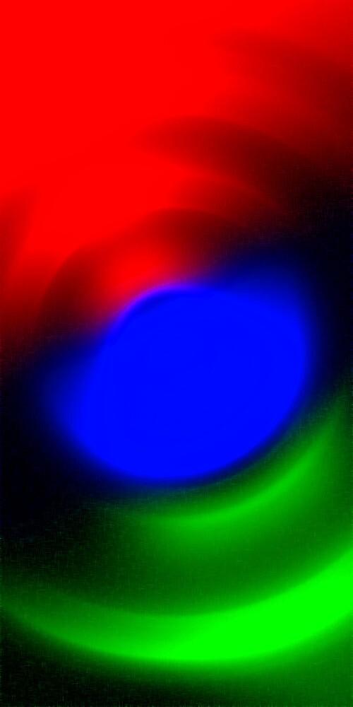 Three Colours // Red, Green, Blue by Benedikt Amrhein