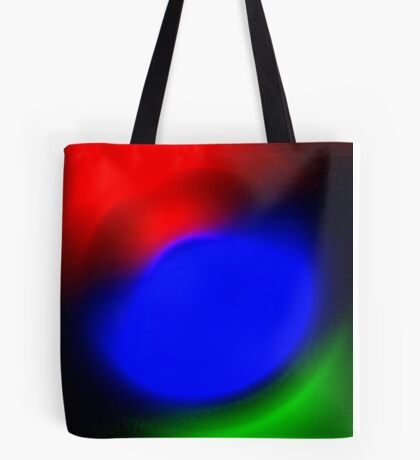 Three Colours // Red, Green, Blue Tote Bag