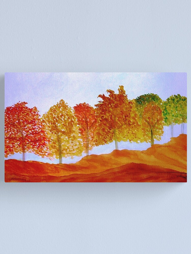 Alternate view of Fall Canvas Print