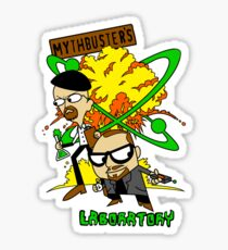 Mythbuster's Lab Sticker