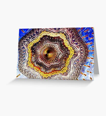 Digital Sculpture Greeting Card