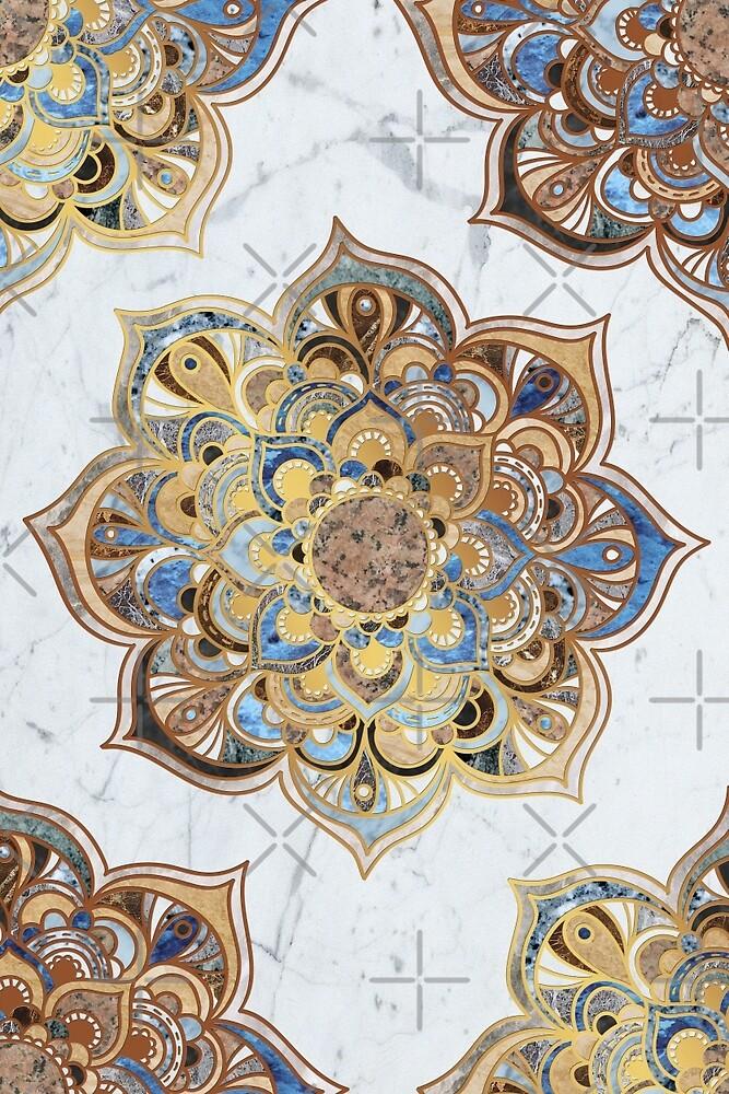 Mandala VII - Marble by aleibanez