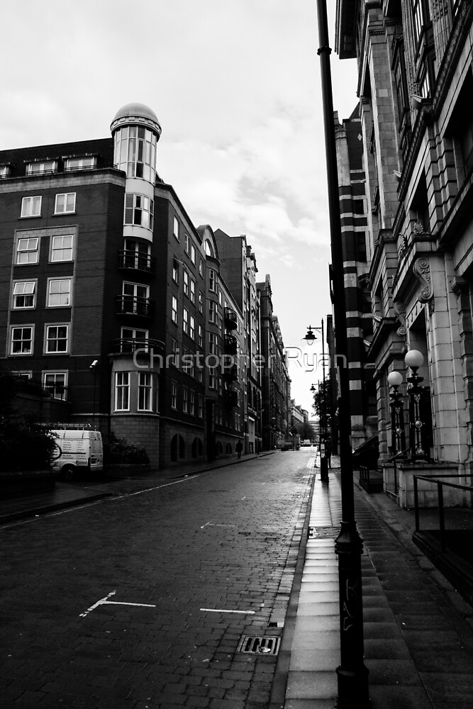 Manchester Streets II by Christopher Ryan