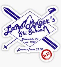 Lane Meyer Ski School Sticker
