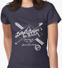 Lane Meyer Ski School Dark Women's Fitted T-Shirt