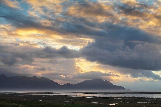 Sunrise, nr Hofn, Iceland by Heidi Stewart