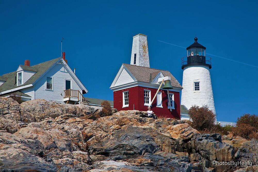 Pemaquid Lighthouse II by PhotosByHealy