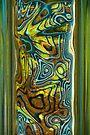 Green Blue Glass I by Jeannette Sheehy