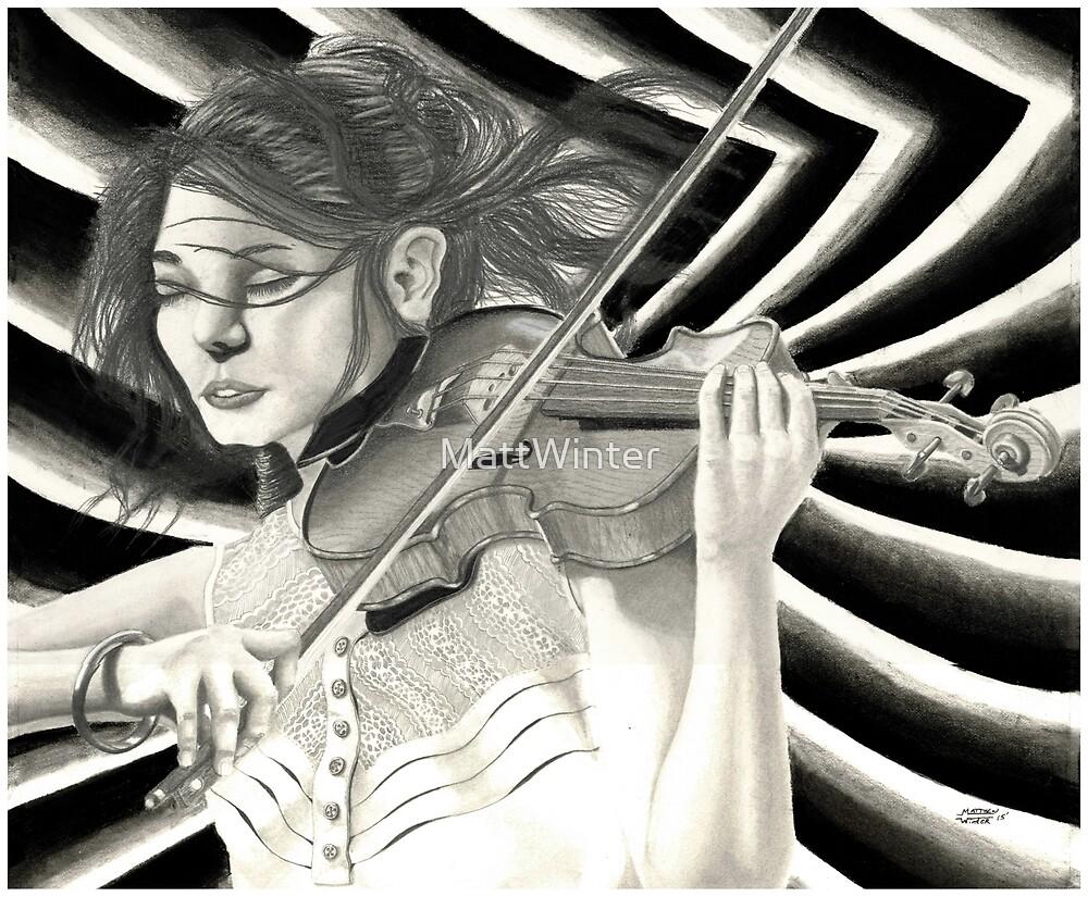 Violinist 2015 by MattWinter
