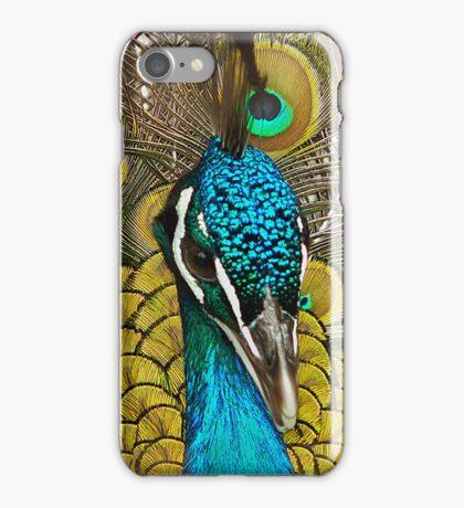 Peacock Pretty Proud iPhone Case/Skin
