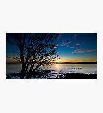 Coles Bay Sunset Photographic Print
