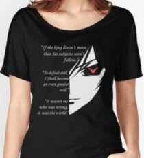 The Testamennt of Lelouch Vi Britannia Part 1 Women's Relaxed Fit T-Shirt