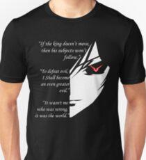 The Testamennt of Lelouch Vi Britannia Part 1 T-Shirt