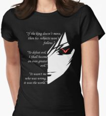 The Testamennt of Lelouch Vi Britannia Part 1 Women's Fitted T-Shirt