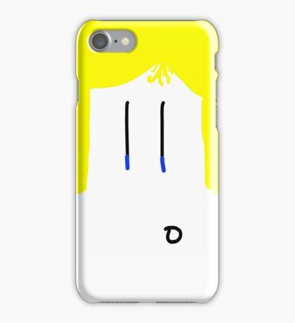 Blond Guy iPhone Case/Skin
